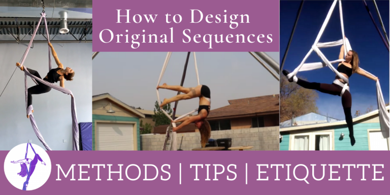 How to Create Original Aerial Silks Sequences