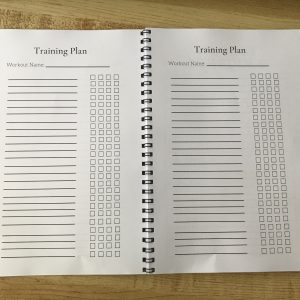 Mindful Training Planner (free shipping in US!)