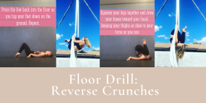 Aerial Compression Floor Drill – Reverse Crunches (Tuck-through analog)