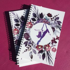Aerialist Notebook (free shipping)