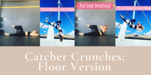Aerial Conditioning: Catcher Crunches, Floor Version
