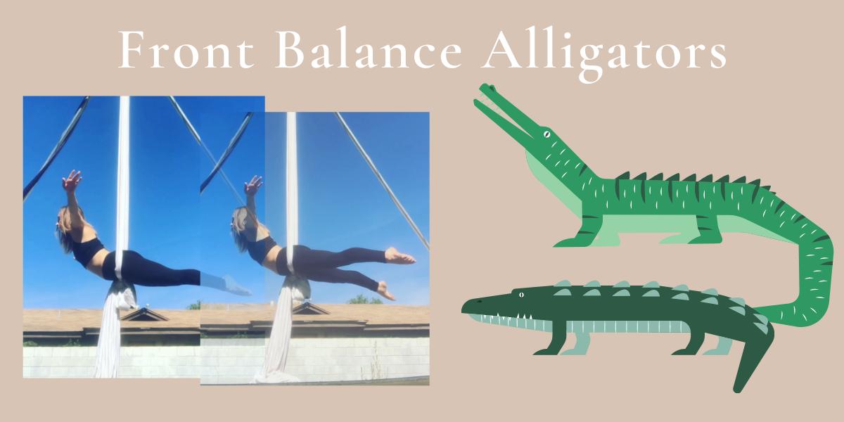 Aerial Drill – Front Balance Alligators