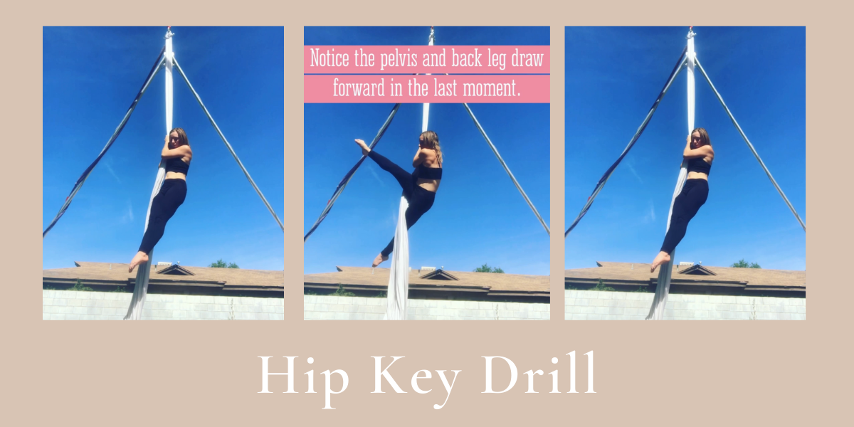 Hip Key Drill – Aerial Silks/Aerial Rope etc.