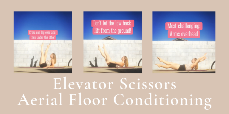 Aerial Floor Conditioning: Elevator Scissors