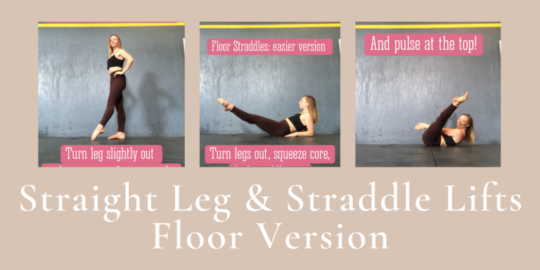 Aerial Conditioning at Home: Straight-leg & Straddle Lifts