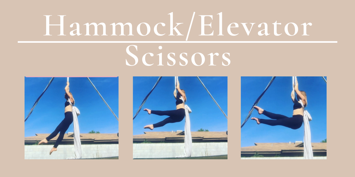 Core Strength & Microbend Aerial Drill: Hammock Scissors