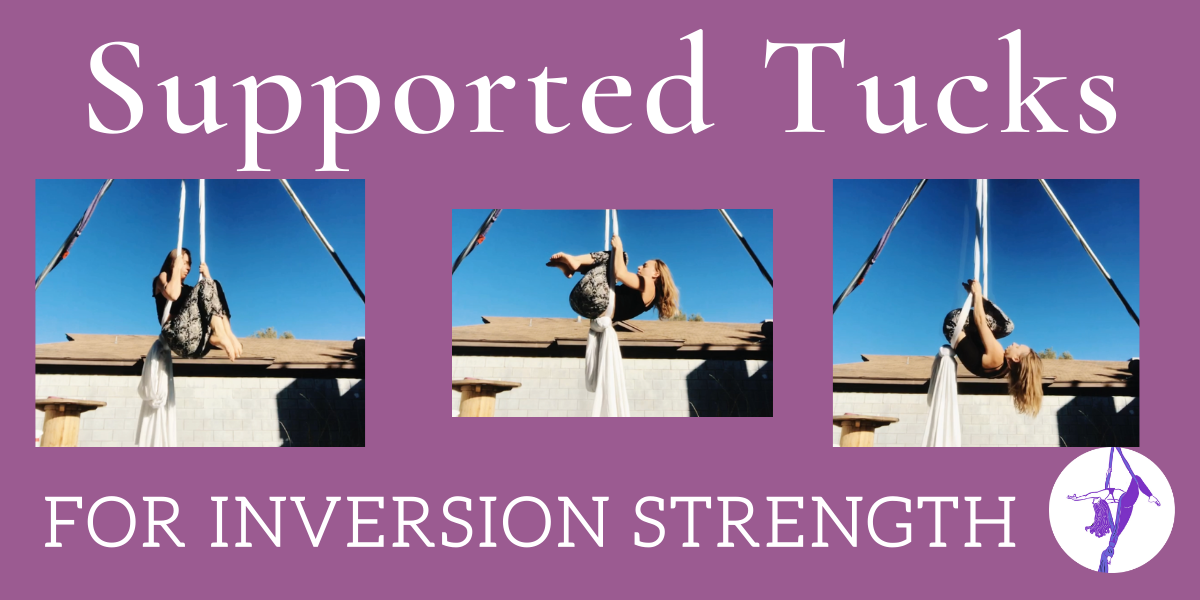 Supported Tucks for Aerial Inversion Strength
