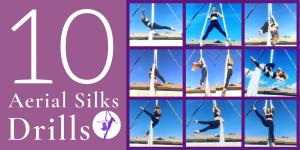 10 Aerial Silks & Hammock Conditioning Drills