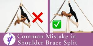Aerial Technique Troubleshooting: Shoulder Brace Split