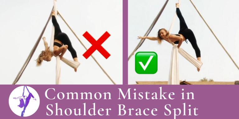 Aerial Technique Troubleshooting: Shoulder Brace Split
