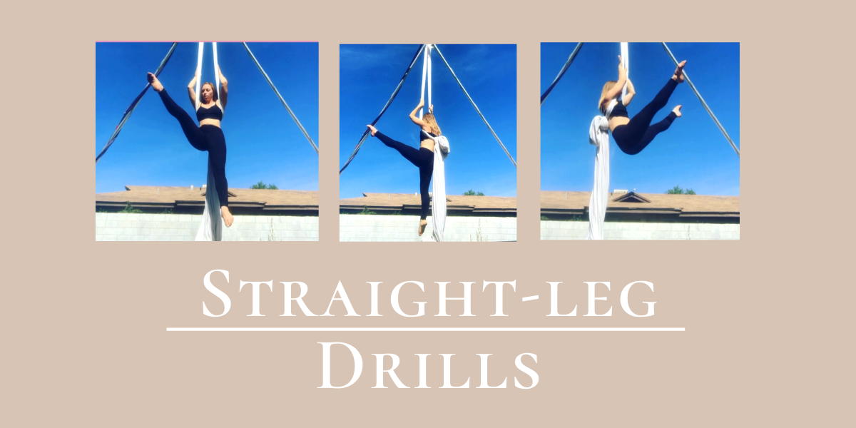 Straight-leg Conditioning for Aerialists: Hammock Scissors