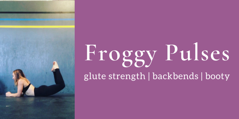 Aerial Conditioning: Froggy Pulses for Glute Strength AKA Backbends & Booty Gains