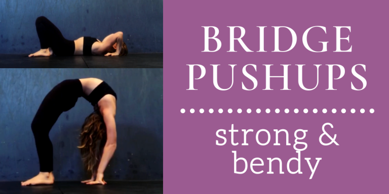 Contortion Bridge Pushups / Yoga Wheel Pushups