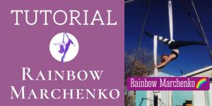 Mini-tutorial: Rainbow Marchenko Aerial Silks