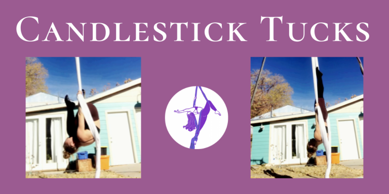 Candlestick Tucks – Aerial Silks Conditioning