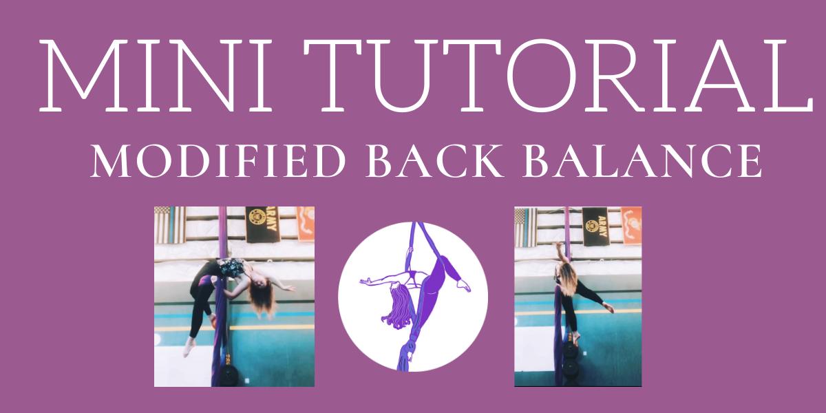 Mini Tutorial: Modified Back Balance