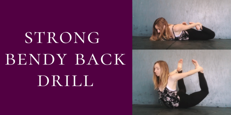 Floor Drill for Back Flexibility & Strength