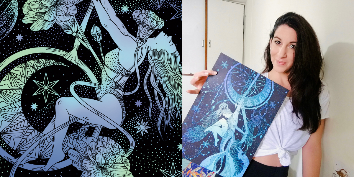 Expressing the Magic of Aerial Through Art – Interview with Cristi Creative