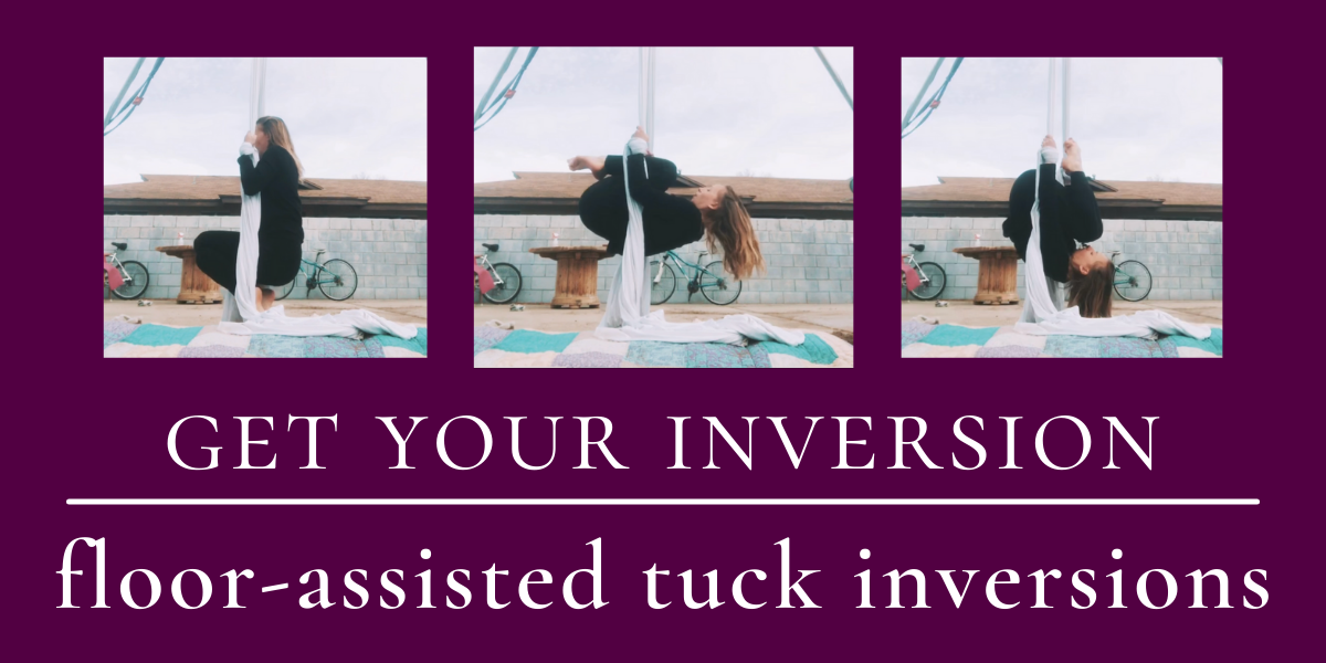 Get Your Inversion ~ Aerial Silks Drill