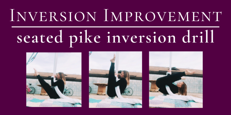 Seated Pike Inversions with Wristlocks