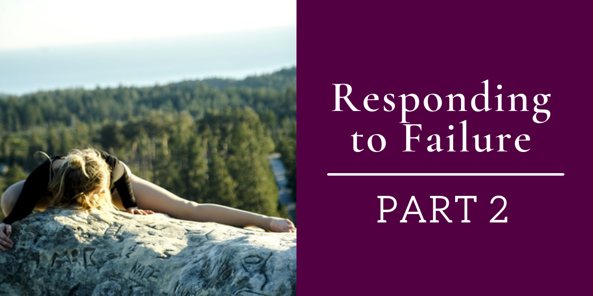 Responding to Failure in Aerial Arts & Life – Part 2